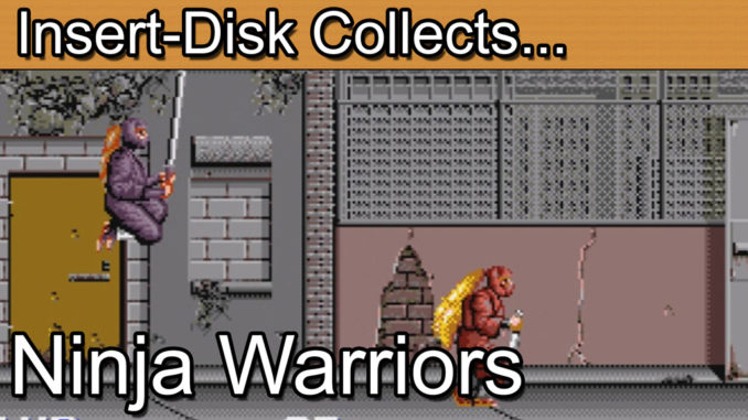 Ninja Warriors: Sega CD