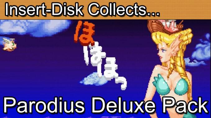 Gokujou Parodius Da! Deluxe Pack: Sega Saturn (極上パロディウスだ!)