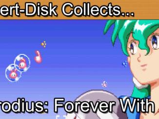 Parodius Forever With Me (Jikkyō Oshaberi Parodius) for the Sega Saturn (実況おしゃべりパロディウス)