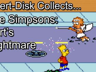 Bart's Nightmare: Sega Mega Drive / Sega Genesis
