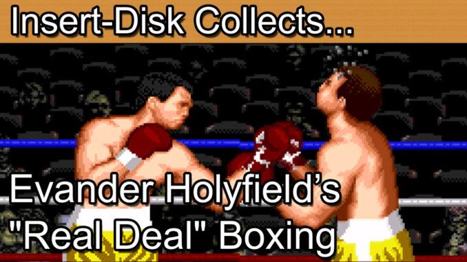"""Evander Holyfield's """"Real Deal"""" Boxing: Sega Mega Drive / Sega Genesis"""