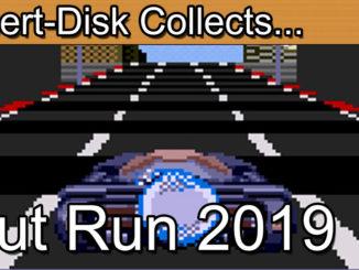 Outrun 2019: Sega Mega Drive / Sega Genesis