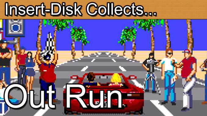 Out Run: Sega Mega Drive / Sega Genesis