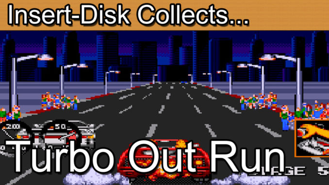Turbo Out Run: Sega Mega Drive / Sega Genesis