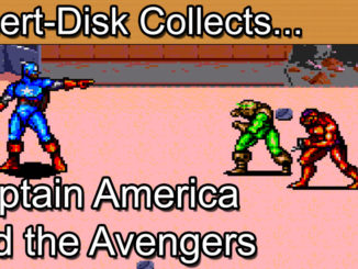 Captain America and the Avengers: Sega Mega Drive / Sega Genesis
