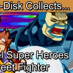 Marvel Super Heroes Vs Street Fighter: Sega Saturn