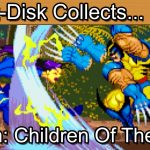 X-Men Children Of The Atom: Sega Saturn