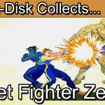 Street Fighter Zero: Sega Saturn