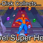 Marvel Super Heroes: Sega Saturn