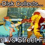 X-Men vs Street Fighter: Sega Saturn