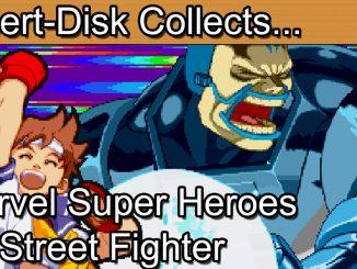 Marvel Super Heroes Vs Street Fighter: Sega Saturn