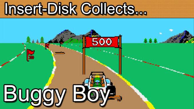 Buggy Boy: Commodore Amiga